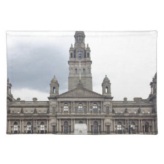 Glasgow Town Hall Placemat