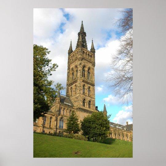 Glasgow University Poster