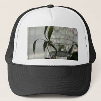 Glass and Plant Trucker Hat