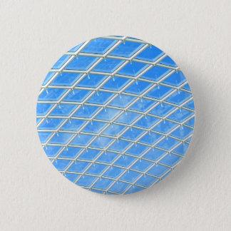 Glass background 6 cm round badge