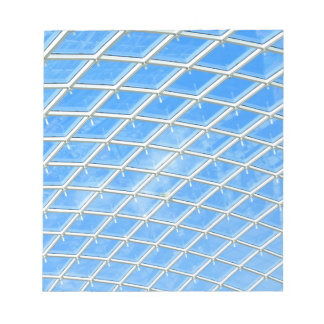 Glass background notepad