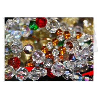 Glass Beads Card