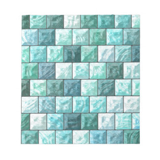 Glass blocks texture notepad