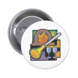 Glass Blowing Button