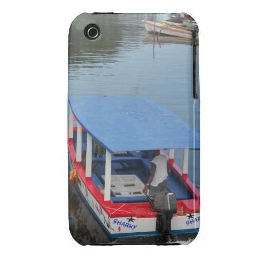 Glass Bottom Boat Negril Blackberry Curve Case-Mat iPhone 3 Cover