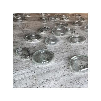 Glass Bubbles Stretched Canvas Prints