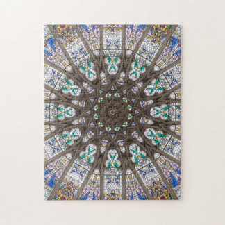 Glass Cathedral Medieval Builders Seven Puzzle