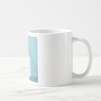 Glass Cologne Bottle Basic White Mug