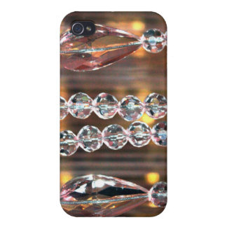 Glass Crystals Case For iPhone 4