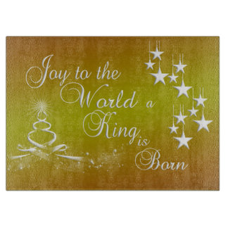 Glass Cutting Board/Christmas Cutting Board