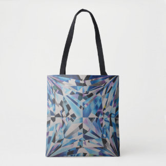 Glass Diamond All-Over-Print Tote Bag