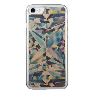Glass Diamond Apple iPhone 7 Slim Maple Wood Case