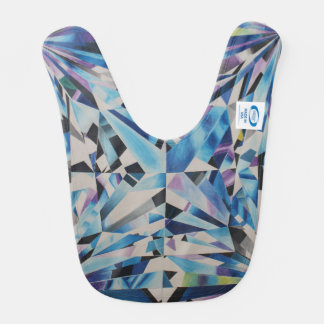 Glass Diamond Baby Bib