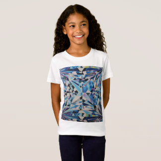 Glass Diamond Girls' Fine Jersey T-Shirt