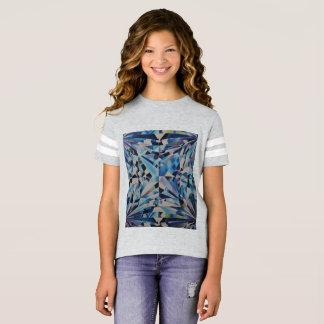 Glass Diamond Girls' Football Shirt