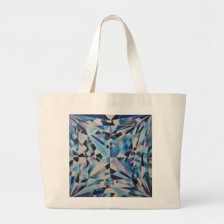 Glass Diamond Jumbo Tote