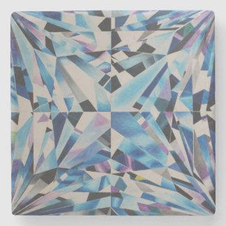 Glass diamond Marble Stone Coaster