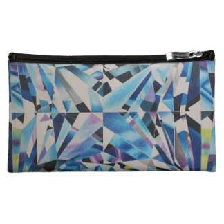 Glass Diamond Medium Cosmetic Bag