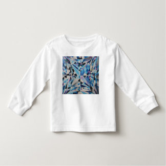 Glass Diamond Toddler Long Sleeve T-Shirt