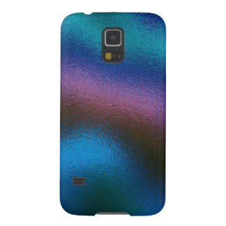 Glass Distort (2 of 12) (Blue) Galaxy S5 Covers