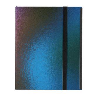 Glass Distort (2 of 12) (Blue) iPad Case
