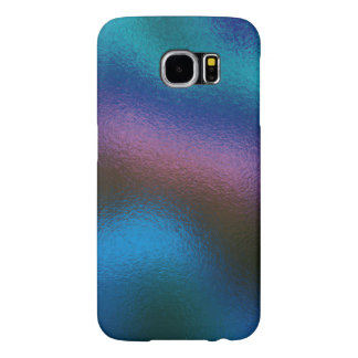 Glass Distort (2 of 12) (Blue) Samsung Galaxy S6 Cases