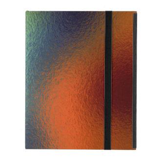 Glass Distort (2 of 12) (Red) iPad Folio Case