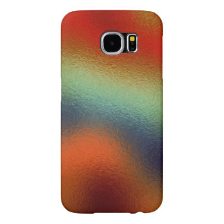 Glass Distort (2 of 12) (Red) Samsung Galaxy S6 Cases