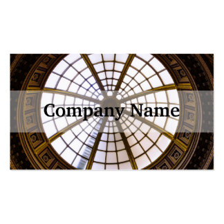 Glass Dome Architecture, National Gallery Pack Of Standard Business Cards