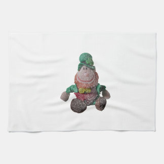Glass Effect Leprechaun Kitchen Towel