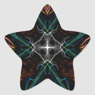Glass Eye Prism Star Stickers