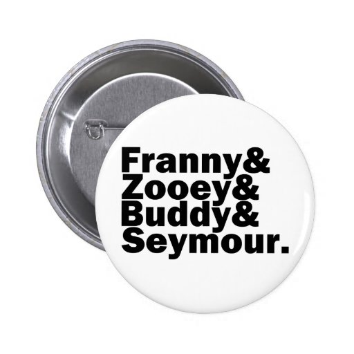 Glass Family Pinback Buttons
