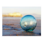 Glass float near Romeo pier