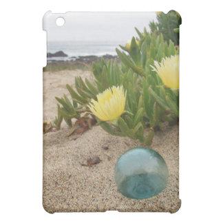 Glass float on the beach iPad mini cover