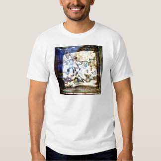 Glass Flowers Abstract Designer Accents T-shirt