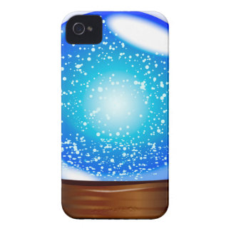 Glass Globe Smow Storm iPhone 4 Cover
