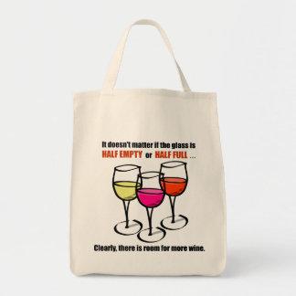 Glass Half Empty Wine Humor