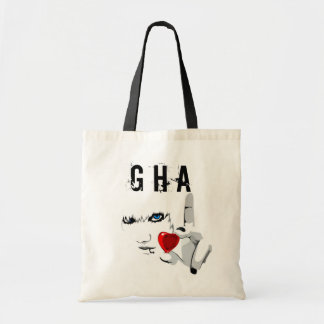 Glass Heart Auction - Love Goes Everywhere Tote Bags