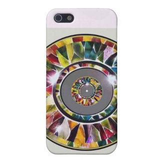 Glass Jewelry Custom Luxury  Covers For iPhone 5
