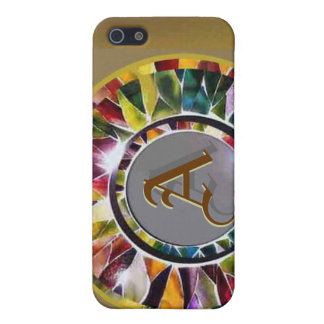 Glass Jewelry personalized Initial  iPhone 5 Covers