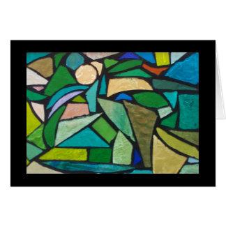 Glass Jungle Card
