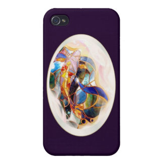 Glass Koi Design Formal  iPhone 4/4S Cover