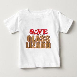 Glass Lizard Save Baby T-Shirt