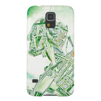 Glass Man Robot Galaxy S5 Cases