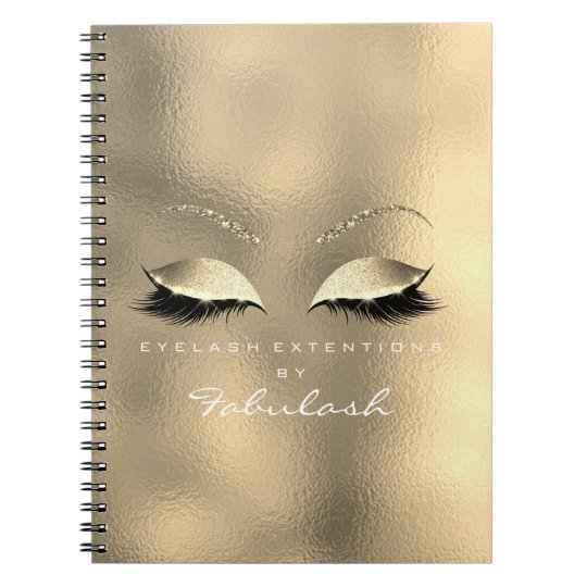 Glass Metal Gold Glitter Eyes Makeup Beauty White