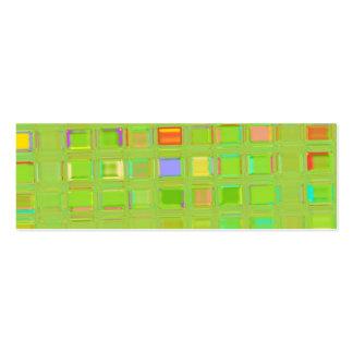 Glass Mosaic Tile template Business Card Templates