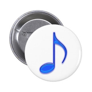 Glass Music Tools Pinback Button