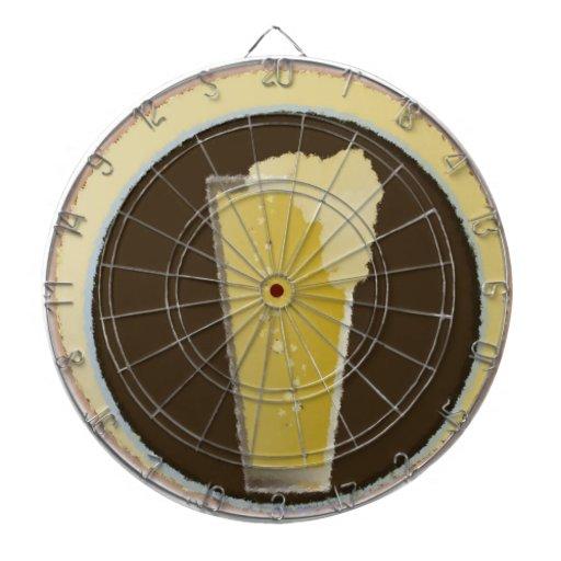 Glass of Beer Dart Board