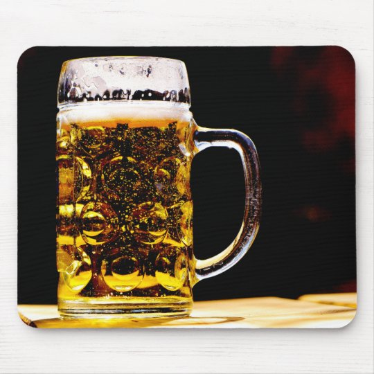 Glass Of Beer Mouse Mat