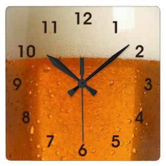 Glass of Beer Wallclock